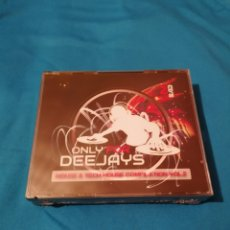 CDs de Música: ONLY FOR DEEJAYS HOUSE & TECH-HOUSE EDITION VOL.2 2CD PRECINTADO. Lote 242310220