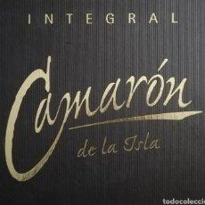 CDs de Música: CAMARÓN INTEGRAL (BOX 1999) 20CDS + LIBRO + PINTURA. Lote 242338260