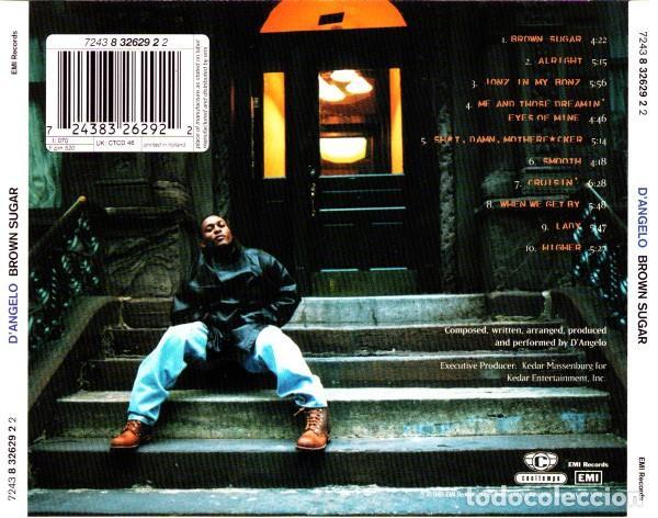 CDs de Música: DAngelo - Brown Sugar - Foto 2 - 242387835