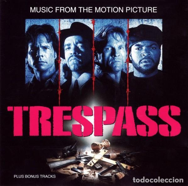 TRESPASS BSO (ICE-T, ICE CUBE, PUBLIC ENEMY, BLACK SHEEP, ETC.) (Música - CD's Hip hop)