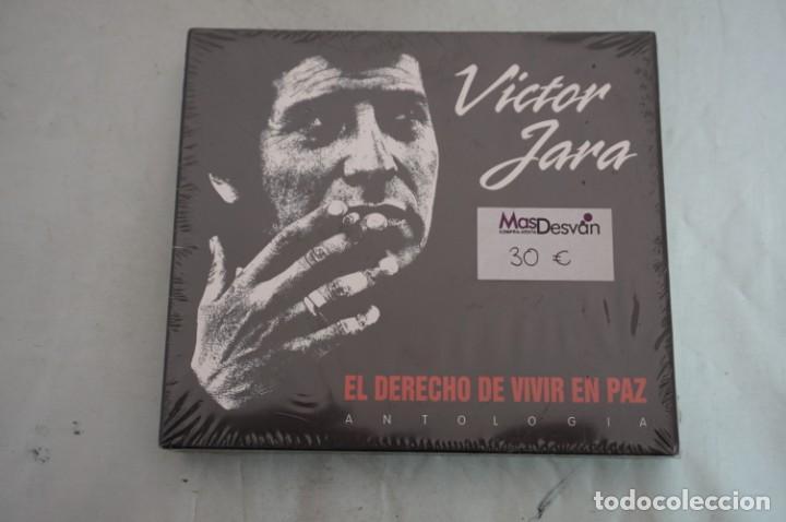 DOBLE CD - DVD PRECINTADO - VICTOR JARA ANTOLOGIA EL DERECHO DE VIVIR EN PAZ (Música - CD's Otros Estilos)