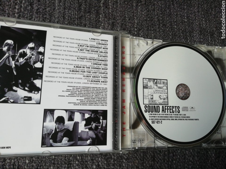 CDs de Música: Sound Affects. The Jam. - Foto 3 - 242815065