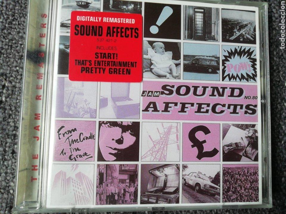 SOUND AFFECTS. THE JAM. (Música - CD's Rock)