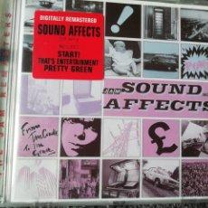CDs de Música: SOUND AFFECTS. THE JAM.. Lote 242815065