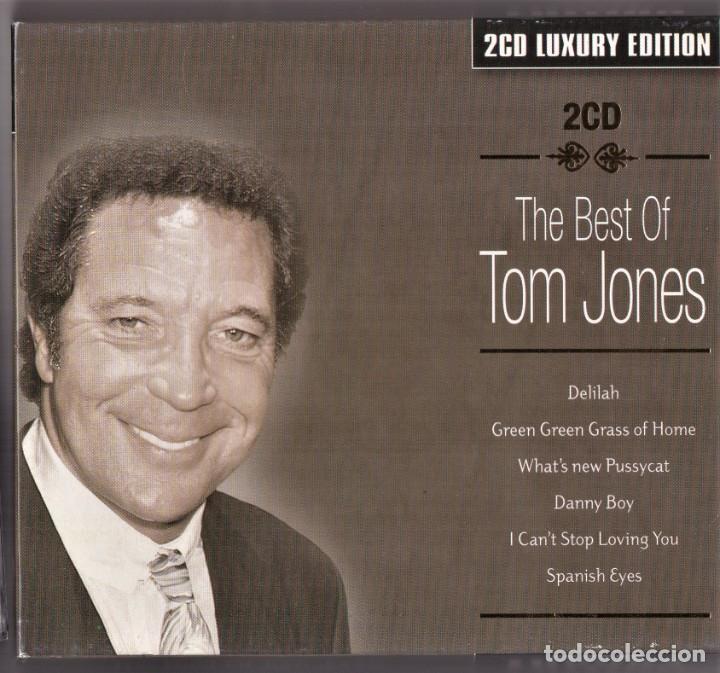 THE BEST OF TOM JONES 2 CDS LUXURY EDITION (Música - CD's Melódica )