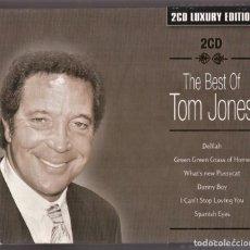 CDs de Música: THE BEST OF TOM JONES 2 CDS LUXURY EDITION. Lote 242828415