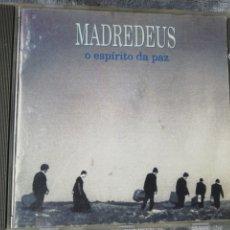CDs de Música: MADREDEUS. O ESPÍRITU DA PAZ.. Lote 242836340