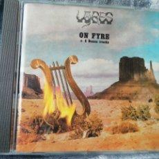 CDs de Música: LYRES. ON FIRE (+8 BONUS TRACKS) NEW ROSE.. Lote 242844305