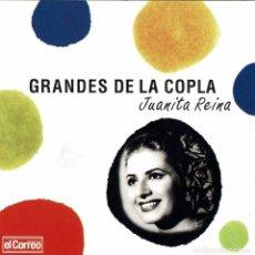 CDs de Música: JUANITA REINA - GRANDES DE LA COPLA. CD. Lote 242873515