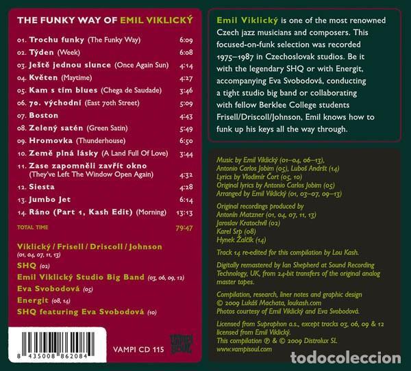 CDs de Música: Emil Viklický – The Funky Way Of Emil Viklický - Foto 2 - 257410075