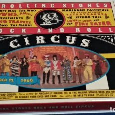 CDs de Musique: CD + LIBRETO (THE ROLLING STONES - THE ROLLING STONES ROCK AND ROLL CIRCUS)1995 ABKCO - CLASSIC ROCK. Lote 242922210