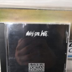 CDs de Musique: MADRID ZONA BRUTA EL CLUB DE LOS POETAS VIOLENTOS CPV. Lote 242946440