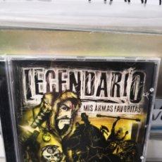 CD di Musica: LEGENDARIO MIS ARMAS FAVORITAS. Lote 242946865