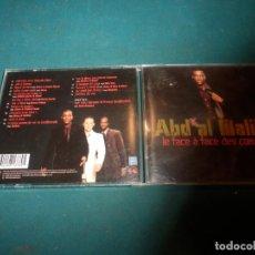 CDs de Música: ABD AL MALIK - LE FACE À FACE DES COEURS - CD 15 + 1 BONUS - ATMOSPHÉRIQUES 2004. Lote 242948070