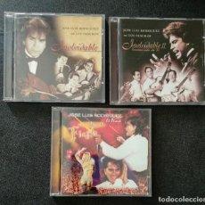 CDs de Musique: LOTE 3 CD JOSE LUIS RODRÍGUEZ EL PUMA - INOLVIDABLE CON LOS PANCHOS I Y II / FIESTA. Lote 242977185