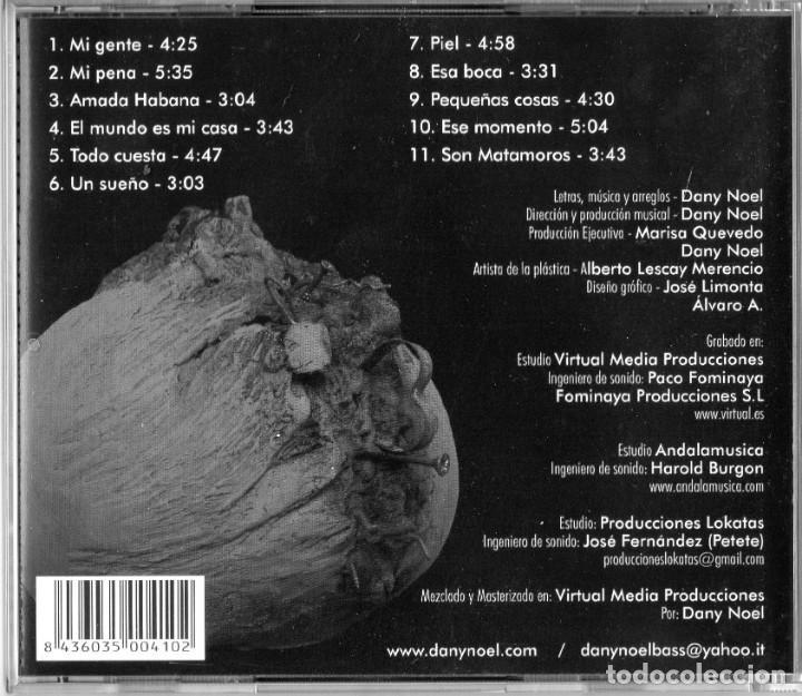 CDs de Música: DANY NOEL - TINTA UNIDA - Foto 2 - 242983480