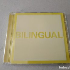 CDs de Música: PET SHOP BOYS. BILINGUAL. 12 TEMAS.. Lote 242990115