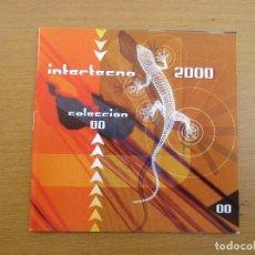 CDs de Música: INTERTECNO 2000 COLECCIÓN 00 CRONO DAVID W. PHILLIPS NOCHT EVERY NO ONE TRIP CHEWBACCA´S CON CARTA. Lote 243040750