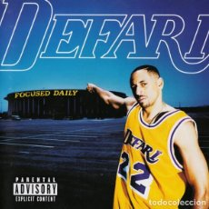 CD de Música: DEFARI - FOCUSED DAILY. Lote 243058725