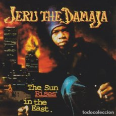 CD de Música: JERU THE DAMAJA - THE SUN RISES IN THE EAST. Lote 243063570