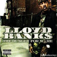 CDs de Música: LLOYD BANKS - THE HUNGER FOR MORE. Lote 243064725