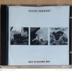 CDs de Música: VICTOR MANUEL (QUE TE PUEDO DAR) CD 1988. Lote 243065345