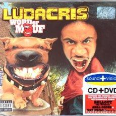 CDs de Música: LUDACRIS - WORD OF MOUF (CD+DVD). Lote 243065460