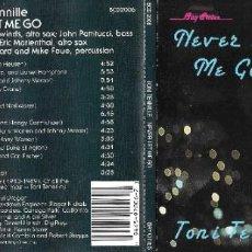 CDs de Música: TONI TENNILLE - NEVER LET ME GO. Lote 243065720