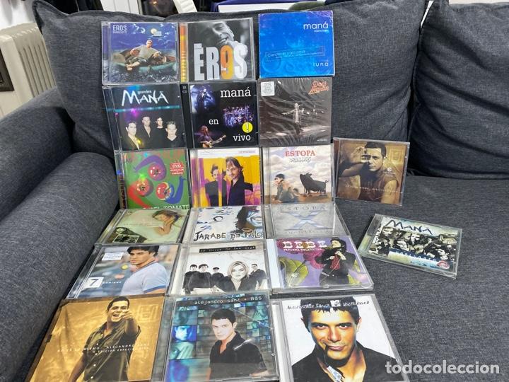 20 CDS DANI MARTÍN, MIGUEL BOSÉ, ALEJANDRO SANZ, MANA, EROS, JARABE DE PALO Y MÁS... (Música - CD's Pop)