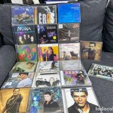 CDs de Música: 20 CDS DANI MARTÍN, MIGUEL BOSÉ, ALEJANDRO SANZ, MANA, EROS, JARABE DE PALO Y MÁS.... Lote 243074975