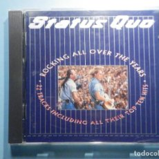 CDs de Música: CD COMPACT DISC - STATUS QUO - ROCKING ALL OVER THE YEARS. Lote 243087940