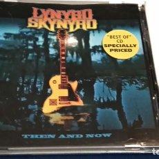CDs de Música: CD ( LYNYRD SKYNYRD – THE AND NOW ) 2000 SPV GERMANY - HEAVY METAL. Lote 243090750