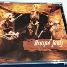 CDs de Música: CD ( DIVINE SOULF - THE BITTER SELFCAGED MAN) 2002 SCARLET ITALY - MELODIC DEATH METAL. Lote 243091665