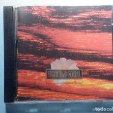 CDs de Música: CD COMPACT DISC - SEGURIDAD SOCIAL - QUE NO SE EXTINGA LA LLAMA. Lote 243096530