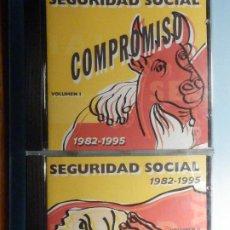 CDs de Música: 2 CD COMPACT DISC - SEGURIDAD SOCIAL - COMPROMISO DE AMOR - 1982-1995 - VOLUMEN I Y II. Lote 243097450