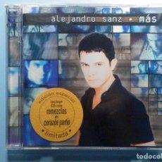CDs de Música: CD COMPACT DISC - ALEJANDRO SANZ - MÁS - EDICIÓN ESPECIAL LIMITADA 2 DISCOS MEZCLAS. Lote 243099960