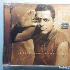 CDs de Música: CD COMPACT DISC - ALEJANDRO SANZ - NO ES LO MISMO. Lote 243100050