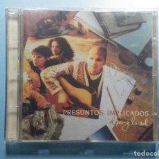 CDs de Música: CD COMPACT DISC - PRESUNTOS IMPLICADOS - AL PAN Y LA SAL. Lote 243100120