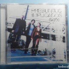 CDs de Música: CD COMPACT DISC - PRESUNTOS IMPLICADOS - SIETE. Lote 243100235