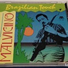 CDs de Música: CD ( HORACIO MALVICINO – BRAZILIAN TOUCH ) 1990 MICROFON – C-40 - JAZZ, LATIN, BOSSANOVA, ROCK. Lote 243100800