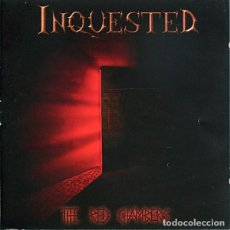 CDs de Música: INQUESTED - TUE RED CHAMBERS. Lote 243167310