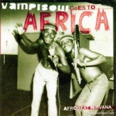 CDs de Música: VAMPISOUL GOES TO AFRICA - AFROBEAT NIRVANA. Lote 243191235