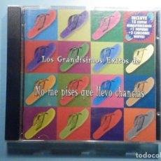 CDs de Música: CD - COMPACT DISC - NO ME PISES QUE LLEVO CHANCLAS - LOS GRANDÍSIMOS EXITOS DE LOS. Lote 243192125