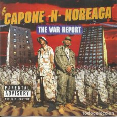 CD de Música: CAPONE N NOREAGA - THE WAR REPORT. Lote 243217045