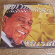 CDs de Música: 4 CD. ANTONIO MACHÍN ANTOLOGÍA. TODA UNA VIDA. EXCELENTE CONDICIÓN.. Lote 243220520