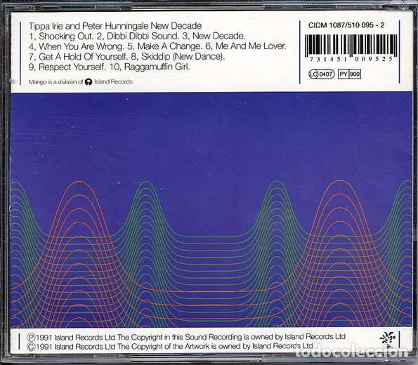 CDs de Música: Tippa Irie and Peter Hunnigale - New Decade - Foto 2 - 243220705
