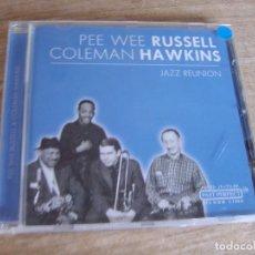 CDs de Música: CD. PEE WEE RUSSELL. COLEMAN HAWKINS. JAZZ REUNION. 2002. EXCELENTE CONDICIÓN.. Lote 243228215