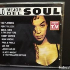 CDs de Música: LO MEJOR DEL SOUL CD ALBUM AÑO 1996 PEPETO. Lote 243297440