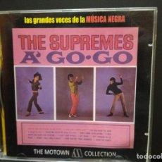 CDs de Música: THE SUPREMES A GO-GO (CD MOTOWN-UNIVERSAL 2001 ESPAÑA) PEPETO. Lote 243300685