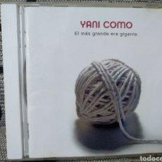 CDs de Música: YANI COLMO - EL MÁS GRANDE ERA GIGANTE. Lote 243340665